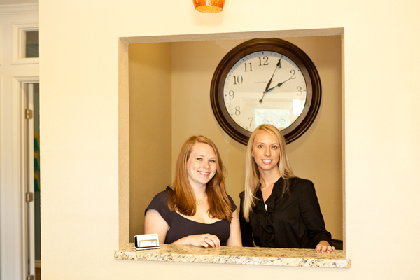 Amanda and September welcome you to ALC!